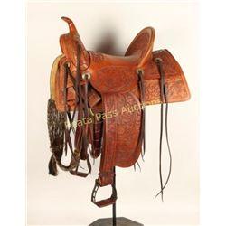 Tooling Bench Western Saddle