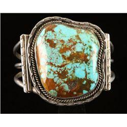 Navajo Turquoise Cuff Bracelet