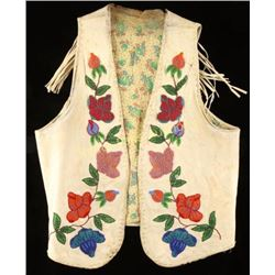 Lakota Sioux Beaded Vest
