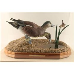 Waterfowl Carving by William Bishop
