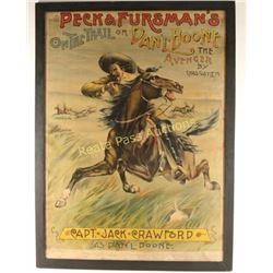 Original Peck & Fursman's Poster