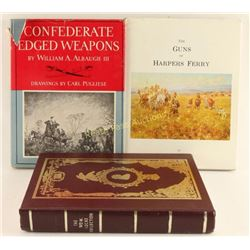 Lot of 3 Firearm Books