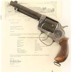 *Colt 1878 .45 B SN: 3405