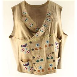 Beautiful Santee Sioux Beaded Vest