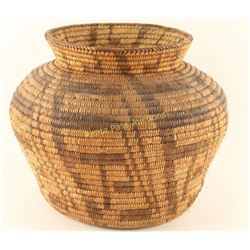 Very Fine Pima Basketry Olla