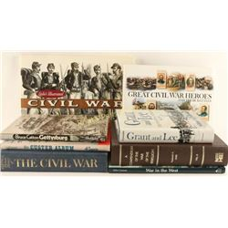 Collection of Civil War Related Books