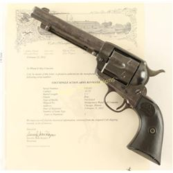 Colt Single Action Army .32 WCF SN: 316383