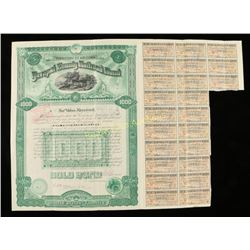 Yavapai County 1893 Railroad Bond