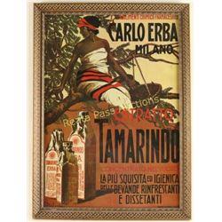 Carlo Erba Milano Poster
