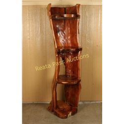 Decorative Tree Trunk Shelf