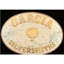 Garcia Silversmiths Sterling Belt Buckle