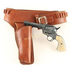 Western Holster Rig & Colt SA Display Gun