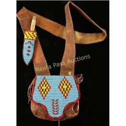 Blackfoot Possibles Satchel & Patch Knife