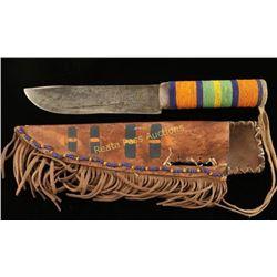 Sioux Knife with Sheath