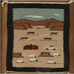 Navajo Pictorial Rug