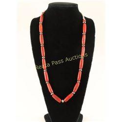 Mediterranean Coral Necklace