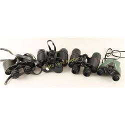 Collection of Four Pairs of Binoculars