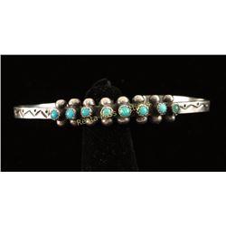 Petite Ladies Navajo Cuff Bracelet