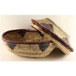 Vintage 'Nile' Style Basket