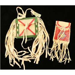 Collection of 2 Native American Possibles Bags