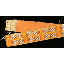 Fully Beaded Native American Belt