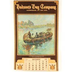 Original Hudson Bay Calendar