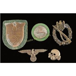 Lot of German WWII Badges and Insignia