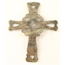 Metal Cross Pendant