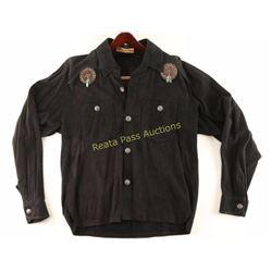 Suede Western Shirt