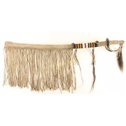 Native American Beaded Sword & Sheath