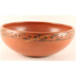 Maricopa Redware Pottery Bowl