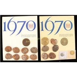Hudson Bay Trade Currency Collection