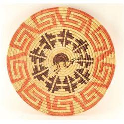 Navajo Coil Basketry Plaque