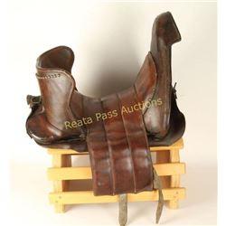 Medieval Type Jousting Saddle