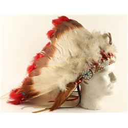 Contemporary Plains Indian Headdress