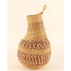 Small Mission Style Olla Basket