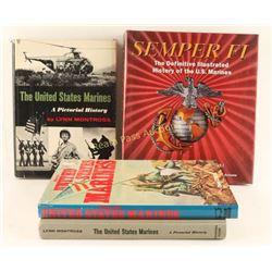 Lot of 4 Books on U.S. Marines