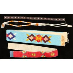 Lot of Native American Beaded Items