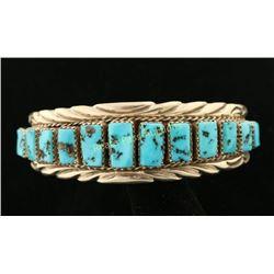 Navajo 13 Stone Cuff Bracelet