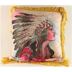 Vintage Silk Pillow