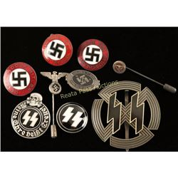 Lot of German WWII Pins & Badges