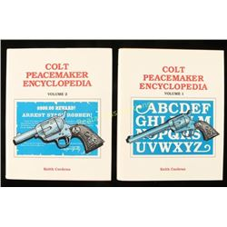 """Colt Peacemaker Encyclopedia"" Volumes 1 & 2"