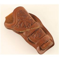 Leather Tooled Holster