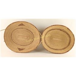Collection of 2 Northern Plains Baskets
