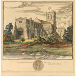 Lithograph by Isabel Saul