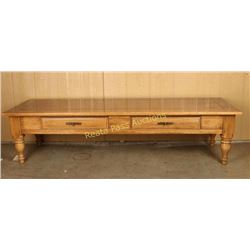 Oak Rectangular Coffee Table