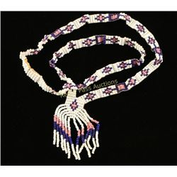 Ladies Indian Beaded Necklace