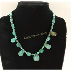 Oriental Turquoise Necklace