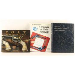 Lot of 3 Colt Firearm Books