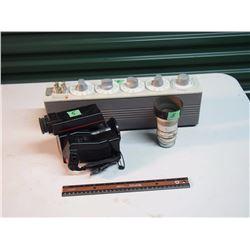 Decade Capacitor General Radio / RCA Camcorder / Lens